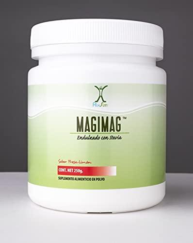 Rlx Slm MagiMag Citrato de Magnesio en polvo sin azúcar para tomar con agua fría o caliente - 250 g