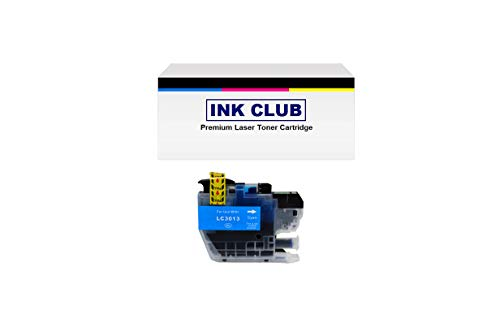 Price comparison product image InkClub LC-3013C-1PK Compatible Ink Cartridge Replacement for MFC-J491DW MFC-J895DW MFC-J690DW MFC-J497DW Printers