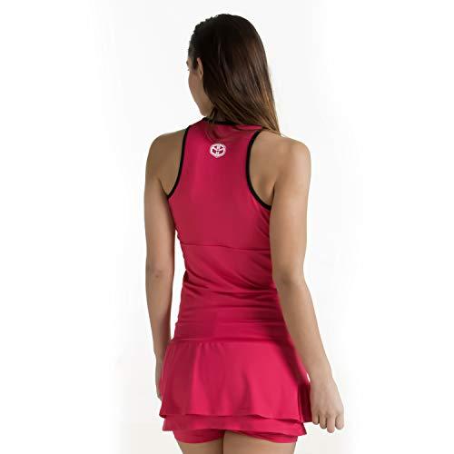 Duruss Vestido con Tirantes y Minishort, Mujeres, Rojo, S