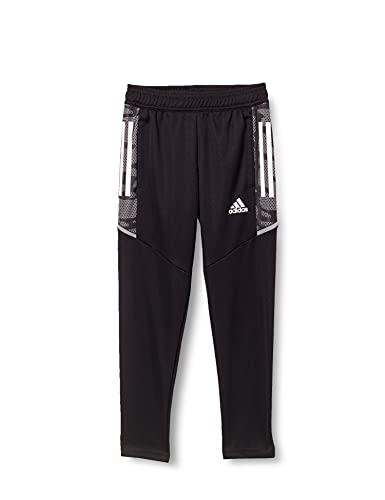 adidas CONDIVO21 PRIMEBLUE Pantalones de chándal, Negro y Blanco, 16 años para Niñas