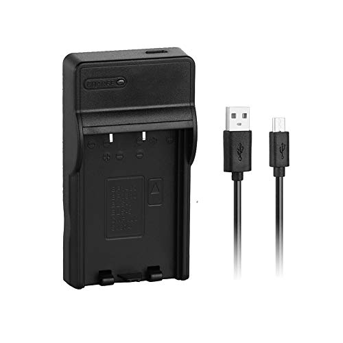 [Caricatore rapido] Caricatore rapido USB sostitutivo BLS-1/BLS-5 per Olympus PS-BLS1, BLS-50, batteria PS-BLS5, E-400, E-450, E-620, E-P2, E-P3, OM-D E-M10, PEN E-PL2, E-PL5, E-PL6, E-PL7 e altro