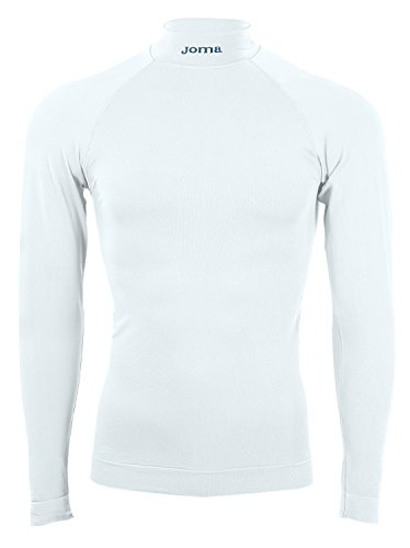 Joma Brama Classic, Camiseta térmica Unisex, Blanco, S-M