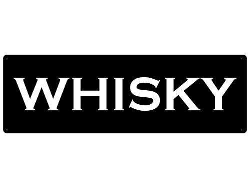 Interluxe metalen bord metalen bord decoratiebord whisky geschenk bar kast rek tasting