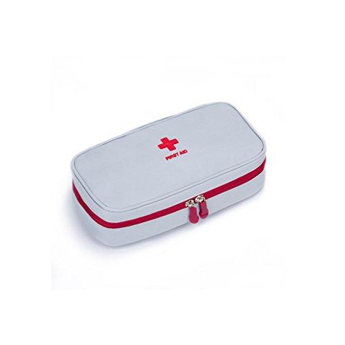 YONGJUN Paquet Médical Portatif De Paquet De Stockage Extérieur De Voyage (Couleur : Blanc)