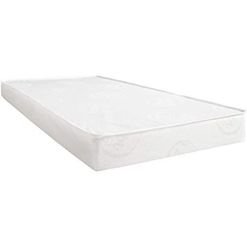 BabyCalin BBC533002 Einfaches Matratzenbett, 70cm x 140cm x 10cm, Mehrfarbig, 1 Stück