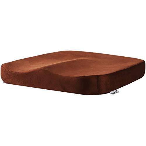 XGXQBS Memory Foam Seat Cushion, Pijnstiller Comfort Seat Pad met antislip rug, Mat voor rolstoel/stoel