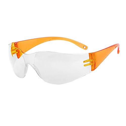 Professionelle Kinder-Schutz-Okulare für Kinder, experimentelle transparente Anti-Splash Anti-Beschlag und Anti-Shock Schutzbrille (Farbe: C)