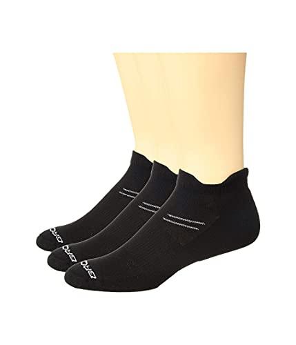 Brooks Run-In 3-Pair Pack Black MD (US Men's Shoe 6-8.5, Women's Shoe 7-9.5)