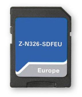 Z-N326-SDFEU 16 GB microSD kaart met EU-kaart 47 landen