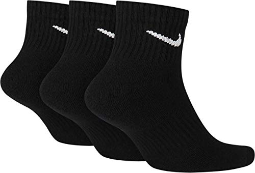 Nike Socken Herren Damen Weiß Schwarz Kurz 8 Paar Knöchel-Hoch 8er Pack Sparset Sportsocken 34-38 38-42 42-46 46-50, Größe:46-50, Farbe:weiß/weiß/schwarz