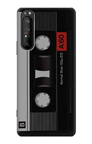 R3516 Vintage Cassette Tape Case Cover for Sony Xperia 1 II
