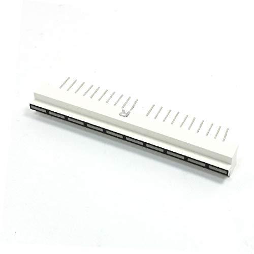 X-Dr Rote LED-Bargraph-Anzeige mit 10 Segmenten, 10 Pins, 60 mm x 7 mm (e990ccbb32203b0ba38af56371433884)