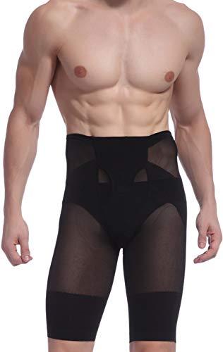 Panegy Herren Body Shaper Boxershorts Figurformende Unterwäsche Unterhose mit Bauchweg Effekt Sport Training Funktionsunterwäsche