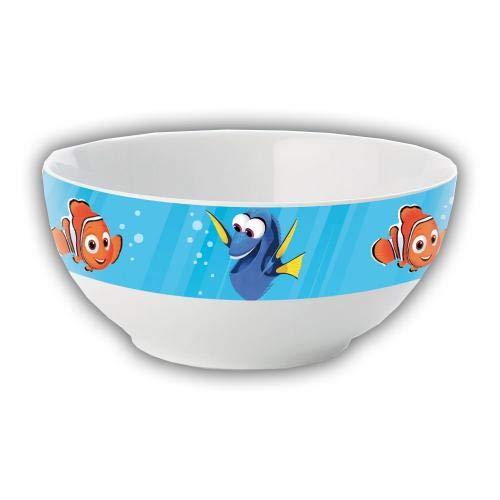 Findet Dorie Z879170 (2 Motive) Finding Dory Müslischalen Set Dorie und Nemo, Mehrfarbig, 15 x 25 x 12 cm