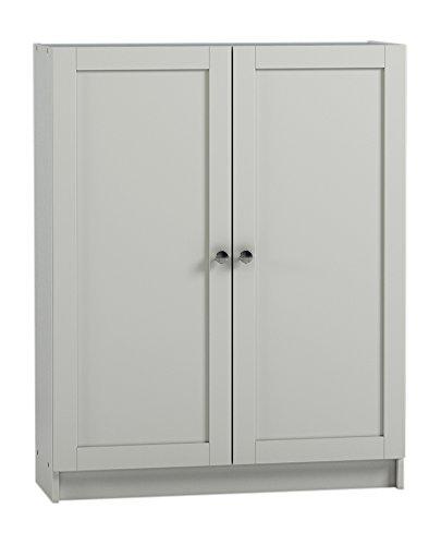 Steens Anette Türen Set, 79 x 92 x 1 cm (B/H/T), MDF , Weiß