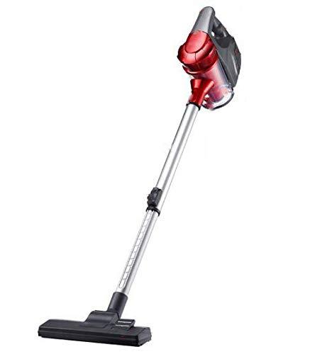 Libina Hogar Portátil Mini Aspiradora De Alta Potencia Succión Fuerte Eliminación Langosta Aspiradora Filtro HEPA Bolsa Portátil Stick Vac, Rojo