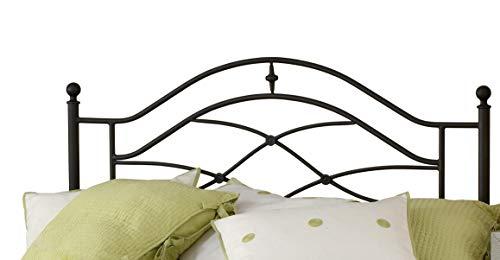 Hillsdale Furniture Hillsdale Cole Bed Freame Full/Queen Headboard, Black twinkle
