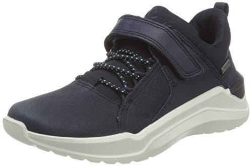 Ecco Jungen INTERVENE Sneaker, Blau (Night Sky/Night Sky/Night Sky 51142), 31 EU