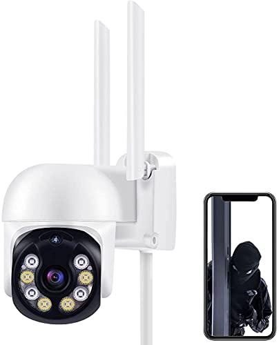 3MP Telecamera Wi-Fi Esterno Videocamera Sorveglianza