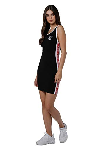 Siksilk - Vestido siksilk body dress - SSW-1048 - Negro, M, Medium