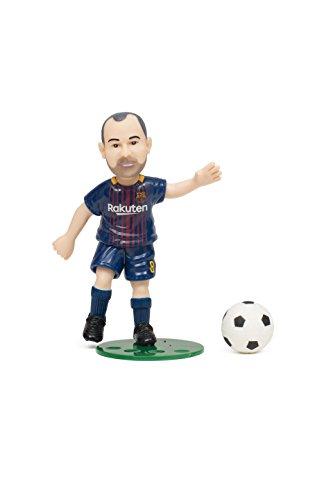 FCバルセロナ アンドレス・イニエスタ(Andres Iniesta) コレクティブル アクションフィギュア