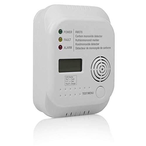 professionnel comparateur Détecteur de monoxyde de carbone Smartwares RM370 – Capteur 7 ans – Batterie 1 an incluse – Affichage choix