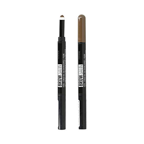 Maybelline New York - Brow Satin, Lápiz de cejas, Tono 02 M