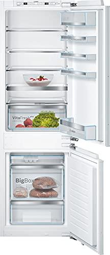 Bosch KIS86AFE0 Serie 6 - Frigorifero da incasso con congelatore, altezza nicchia 177,5 cm, 218 kWh anno, 191 l, vano congelatore da 74 l, VitaFresh Plus, LowFrost