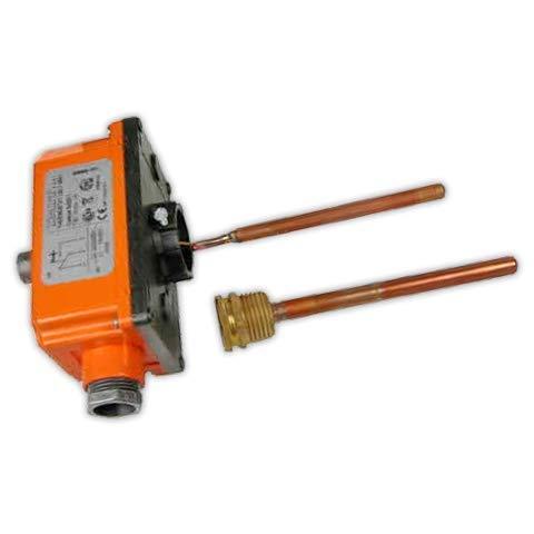 DOJA Industrial | Termostato IMIT Inmersion 0/90° | Termostatos Vaina 1/2 NPT x 97