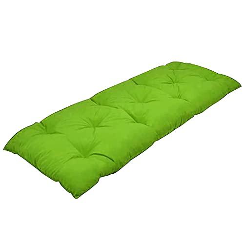 Makluce Bänk för uteplats, inomhus/utomhus bänkkudde, gungkudde, för solstol trädgårdsmöbler uteplats solbänk värdefull