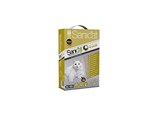 Sanicat Gold Premium Lettiera per gatti, 5L