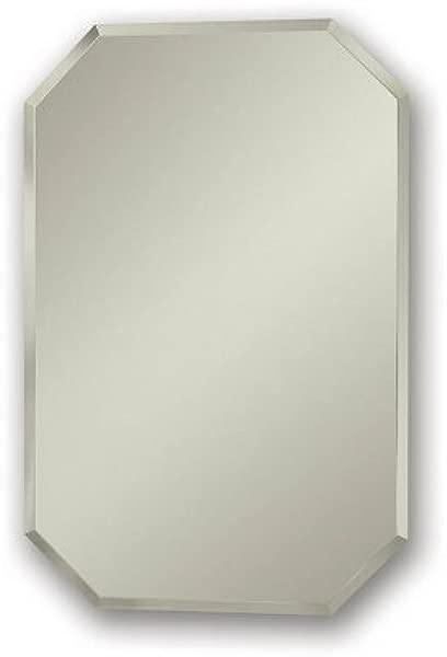 Jensen 1454 Mirage Octagonal Frameless Medicine Cabinet With Beveled Mirror