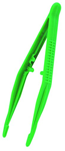 St John Ambulance 11.5 cm Green Plastic Tweezers by St John Ambulance