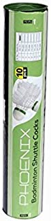 Prokyde Phoenix 111 Feather ShuttleCocks (Pack of 10, White)