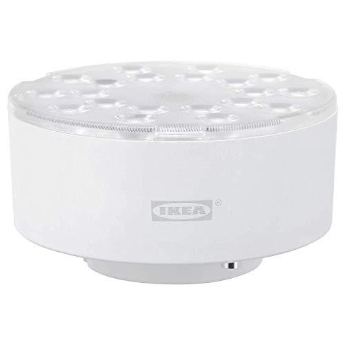 2XIkea LEDARE - Bombilla LED GX53, 600 lúmenes, regulable, 2700 K, ángulo de haz de 36-110° [Clase energética A+]