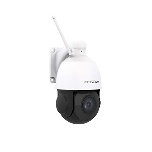 FOSCAM SD2X - Cámara IP WiFi Domo motorizada PTZ 2MP con Zoom...