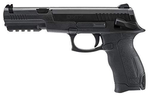 Umarex 2230030 DX17 .177 Caliber BB Gun Air Pistol - Includes 200 Steel BBs, Black