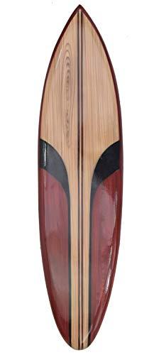 Interlifestyle - Tabla de Surf Decorativa (100 cm, Aspecto de Madera), diseño Moderno
