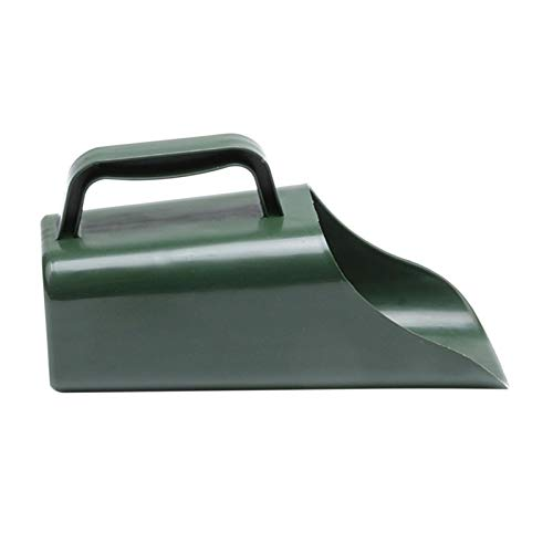 Biggystar Garden Shovel Plastic Leaf Scoop Leaf Collectors Cultivation Digging Bucket Tool For Garden Leaf Rubbish Collect Grass Lawn Cuttings for Household Garden robust