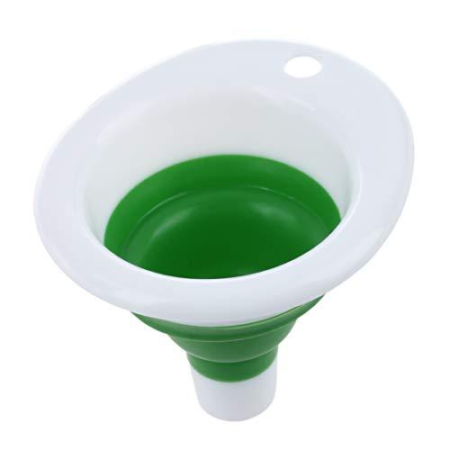 WOVELOT Gel Plegable retractil Hopper Embudo portatil para Cocina Home Garden