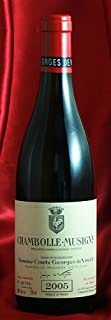 シャンボール・ミュジニー [2005] Chambolle Musigny 750ml コント ジョルジュ ド ヴォギュエ Comtes Georges de Vogue