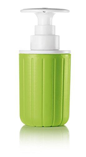 Guzzini Dosasapone Push&Soap Kitchen Active Design, Verde Mela, 7.2 x h15.7 cm