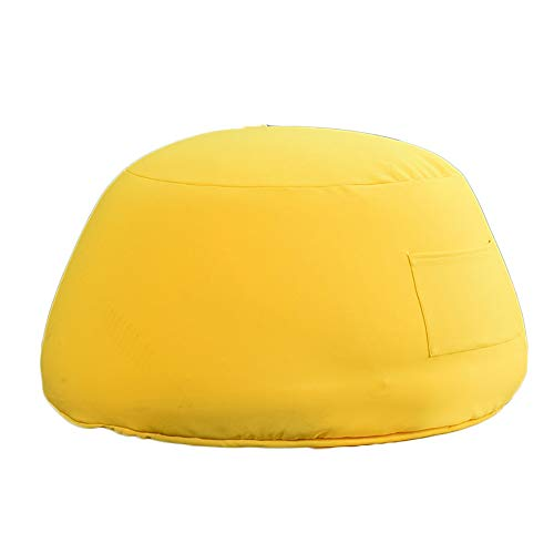 ZHEYANG Gaming Bodenstuhl Faules Sofa Schlafzimmer Sitzsack Single Home Schlafzimmer Sofa Stuhl Kreative Sofatasche Lazy Lounge Chair Größe: 85x45 cm (Farbe : Yellow)