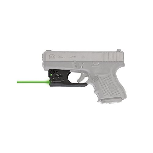 VIRIDIAN WEAPON TECHNOLOGIES 920-0016 Reactor 5 Gen II Green Laser, Glock 17/22/19/23 with ECR Instant On IWB Holster, Black, Fits: Glock 17/22 & 19/23
