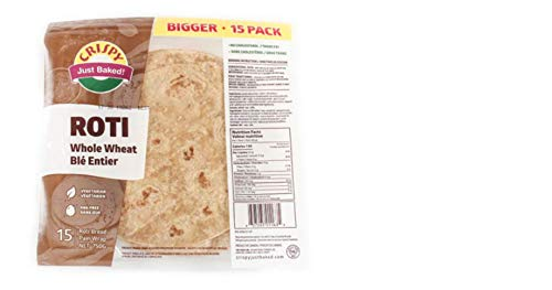 Crispy Whole Roti Import Wheat New life