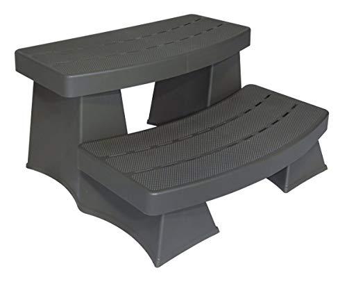 Byron Originals 6130417 SureStep II Spa & Hot Tub Steps - Dark Grey