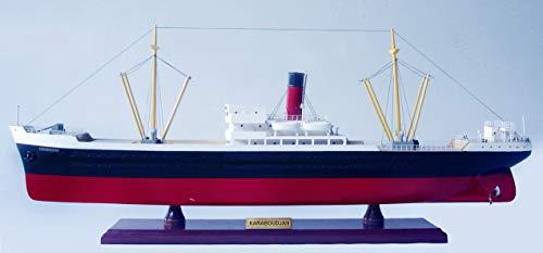 La LICORNE - Maqueta de barco de madera Le KARABOUDJAN – L: 70 cm