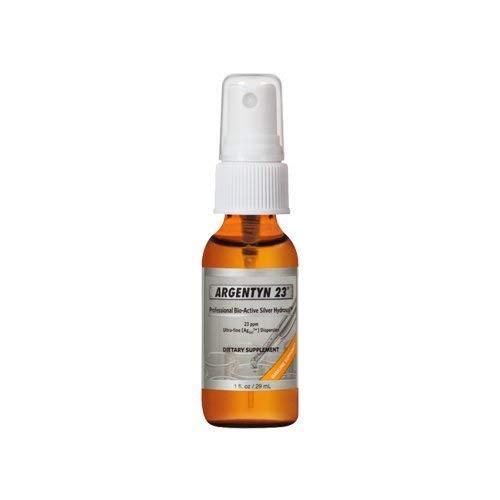 Argentyn 23 - Professional Formula Bio-Active Silver Hydrosol for Immune Support - 1 oz. (29.57 mL) Fine Mist Spray - Colloidal Silver - Colloidal Minerals