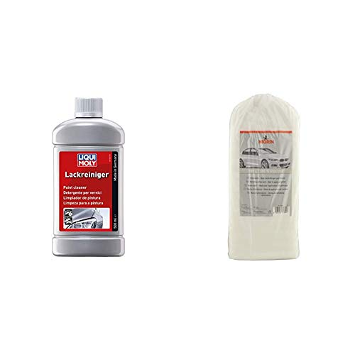 Liqui Moly 1486 Lack-Reiniger, 500 ml & NIGRIN 74304 Polierwatte 380 g