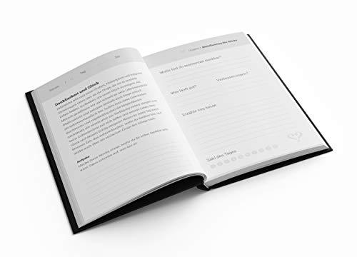 Vertellis Chapters Dankbarkeitstagebuch, Erfolgsjournal & Glückstagebuch | Ideal als Tagebuch für Erwachsene, Tagebuch Mädchen, Journal, Diary, Schwangerschaftstagebuch, Reisetagebuch, Tagesplaner